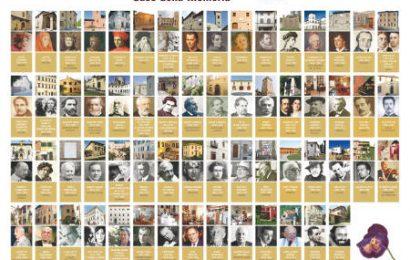 A PISTOIA IL PRESTIGIOSO CONVEGNO DELL'ASSOCIAZIONE NAZIONALE CASE DELLA MEMORIA