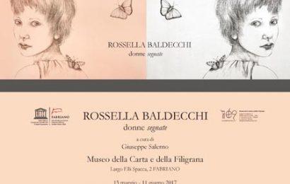 """ROSSELLA BALDECCHI A FABRIANO CON LE SUE """"DONNE SEGNATE"""""""