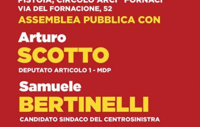 ARTICOLO 1 CON SINISTRA PER PISTOIA E BERTINELLI