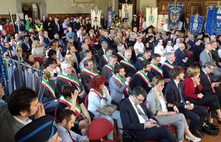 pistoia. CITTADINI E ISTITUZIONI ALLE CELEBRAZIONI DEL 71° ANNIVERSARIO DELLA REPUBBLICA ITALIANA