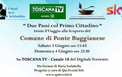 """TRASMISSIONE TV """"2 PASSI CON IL PRIMO CITTADINO"""""""