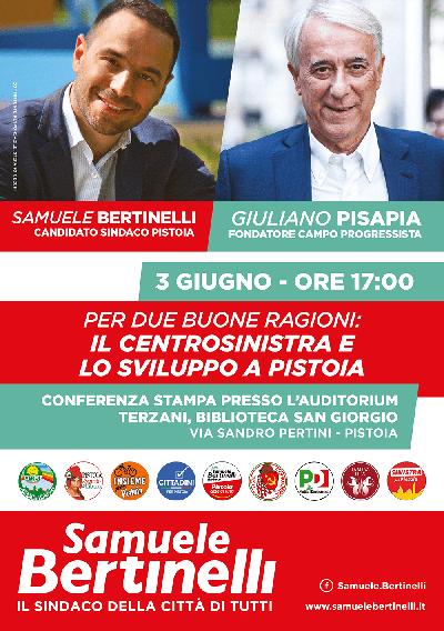 BERTINELLI INCONTRA PISAPIA