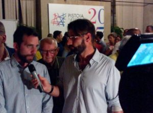 Alessandro Tomasi ai microfoni di Tvl