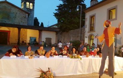 """montemurlo. """"A CENA CON COSIMO I"""", IN PIAZZA CASTELLO IL BANCHETTO IN ONORE DEL GRANDUCA DI TOSCANA"""