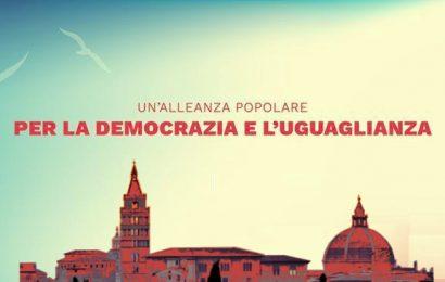 l'appello. UNA ALLEANZA POPOLARE PER LA DEMOCRAZIA E L'UGUAGLIANZA