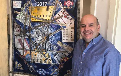 GIOSTRA DELL'ORSO 2017, IL PALIO REALIZZATO DA PAOLO GAVAZZI