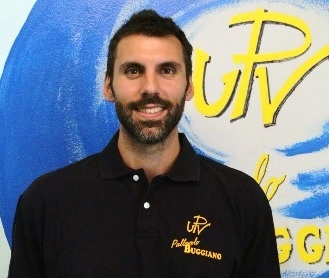 volley. FRANCESCO PIERI NELLO STAFF TECNICO DELL'UPV BUGGIANO