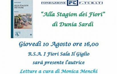 gavinana. «ALLA STAGION DEI FIORI» DI DUNIA SARDI ALLA FONDAZIONE TURATI