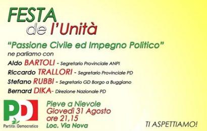pieve. PASSIONE CIVILE ED IMPEGNO POLITICO