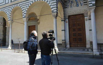 """PISTOIA PROTAGONISTA DELLA TRASMISSIONE DI RAI NEWS """"WEEK END AL CINEMA"""""""