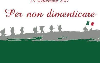 """eventi in montagna. """"PER NON DIMENTICARE"""" LE VITTIME DEL 1945"""