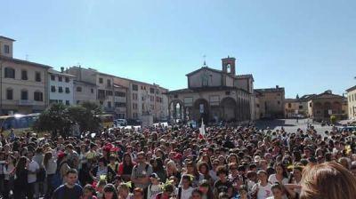 """montecatini–monsummano. """"ARMONIA FOR PEACE"""", GIOVANI ANCORA IN MARCIA"""