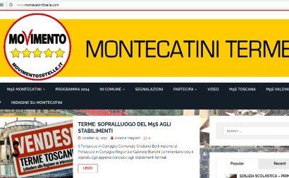 È ATTIVO IL NUOVO SITO WEB DEL M5S MONTECATINI