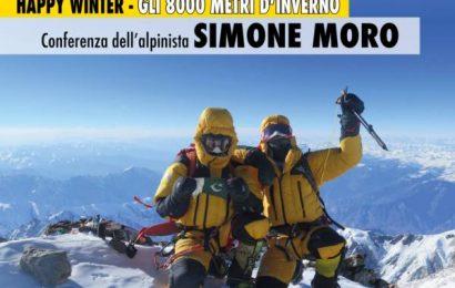 alpinismo. GLI OTTOMILA METRI DI SIMONE MORO