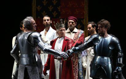 "teatro manzoni. ""RICHARD II"" PER LA REGIA DI PETER STEIN"