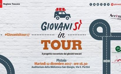 #giovanisìtour. A PISTOIA L'ULTIMA TAPPA DEL 2017
