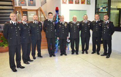 carabinieri. COMANDANTE LEGIONE TOSCANA IN VISITA AL COMANDO DI PISTOIA