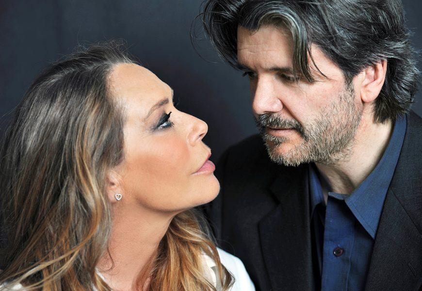 """""""IL BACIO"""", BARBARA DE ROSSI E FRANCESCO BRANCHETTI A TEATRO"""