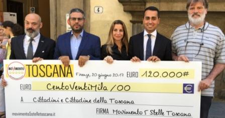 restitution day. QUINDICIMILA EURO PER LA VERIFICA SISMICA DELLA SCUOLA GIUSTI