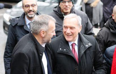 elezioni. PIETRO GRASSO INCONTRA IL CANDIDATO ALESSIO BIAGIOLI