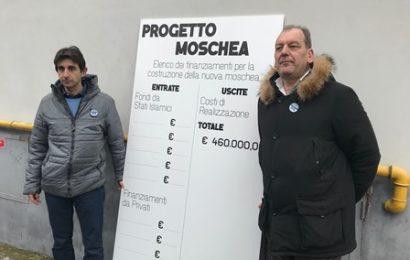 """moschea prato. BLITZ DI FRATELLI D'ITALIA: """"TRASPARENZA SUI FONDI, CITTADINI HANNO PAURA"""""""