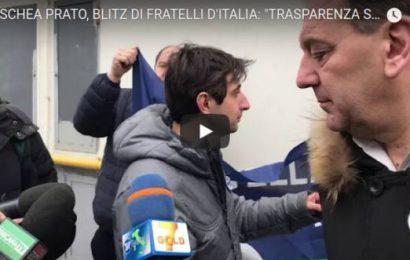 moschea di prato. IL VIDEO DEL BLIZ DI FRATELLI D'ITALIA