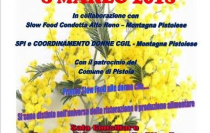san marcello. LO SLOW FOOD PREMIA LE DONNE