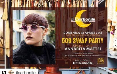 """A """"IL CARBONILE"""" LO SWAP PARTY CON ANNARITA MATTEI"""