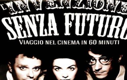 teatro. «L'INVENZIONE SENZA FUTURO. VIAGGIO NEL CINEMA IN 60 MINUTI»
