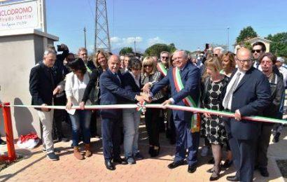 """ponte buggianese. INAUGURATO IL CICLODROMO """"ALFREDO MARTINI"""""""