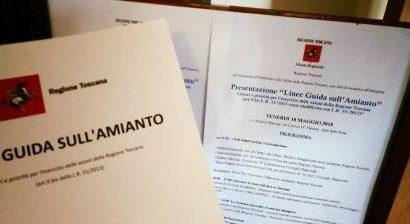 amianto. PRESENTATE IN REGIONE LE LINEE GUIDA