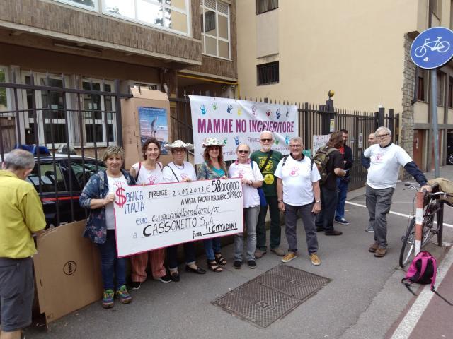 proteste: ANTICENERITORISTI ALLA CORTE DEI CONTI