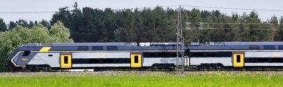 ferrovie. IL ROCK HITACHI DI TRENITALIA EFFETTUA TEST A VELIM