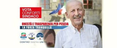 ballottaggio pescia. I PARLAMENTARI DI CENTRO DESTRA A SOSTEGNO DI CONFORTI