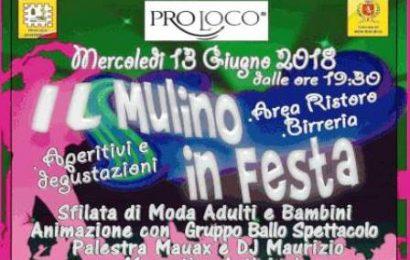 """montemurlo. MUSICA, ANIMAZIONE E ALLEGRIA PER """"IL MULINO IN FESTA"""""""