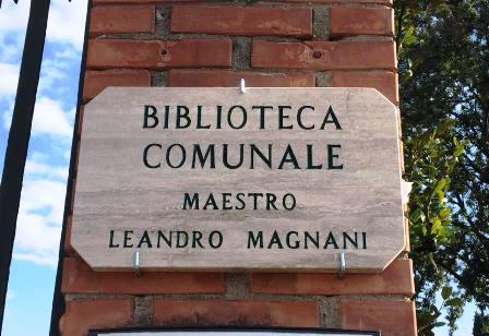 montecatini. LA BIBLIOTECA COMUNALE INTITOLATA A LEANDRO MAGNANI