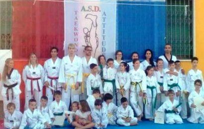 """asd taekwondo attitude. QUATTRO MEDAGLIE ALLA """"COPPA CHIMERA"""" DI AREZZO"""