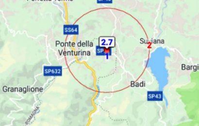 terremoto. UNA SCOSSA DI MAGNITUDO 2,7 NEL COMUNE DI SAMBUCA