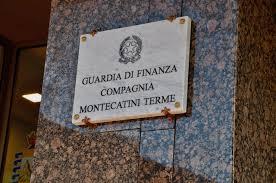 montecatini. GUARDIA DI FINANZA, IL SALUTO DEL SINDACO AL MAGGIORE DE GREGORIO