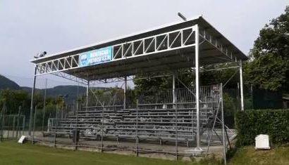 "asd montagna. INAUGURATA LA TRIBUNA COPERTA A ""LA RAMOSCINA"""