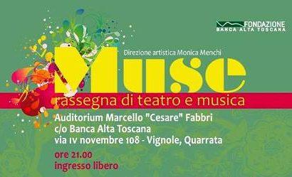 """CON """"MUSE"""" TORNA IL TEATRO E LA MUSICA ALL'AUDITORIUM"""