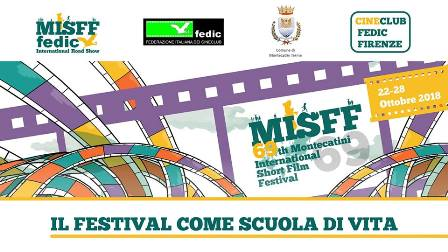 montecatini. AL VIA L'EDIZIONE 2018 DEL FESTIVAL DEL CORTOMETRAGGIO PIÙ LONGEVO D'ITALIA
