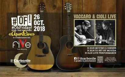 il carbonile. VACCARO & CIOLI LIVE MUSIC