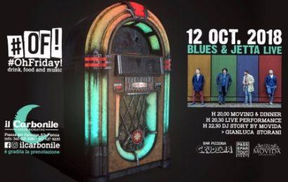 """VENERDÌ LIVE MUSIC AL CARBONILE CON I  """"BLUES & JETTA"""""""