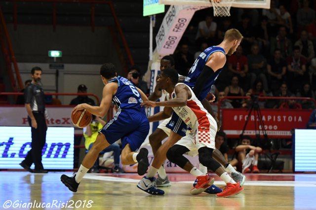 basket. SCONFITTA PISTOIA