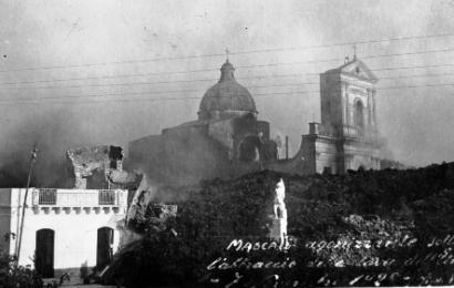 LA MOSTRA ETNA 1928 DOCUMENTA LA DISTRUZIONE DI MASCALI