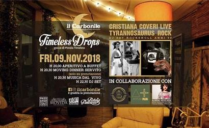 "carbonile. ""TIMELESS DROPS — GOCCE DI PISTOIA TIMELESS"""
