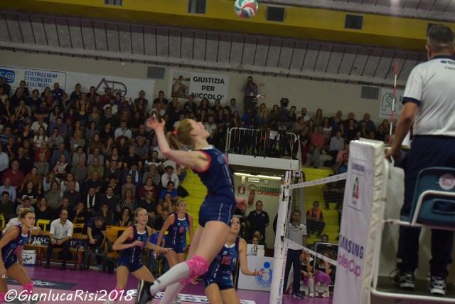 volley femminile. SAVINO DEL BENE— IGOR GORGONZOLA
