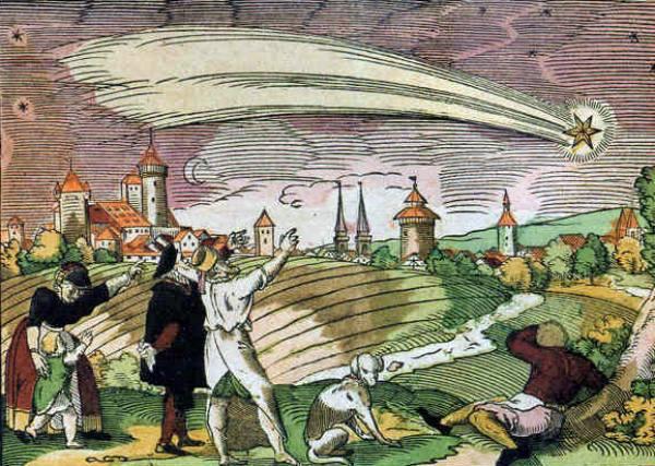 montagna da scoprire. LA GRANDE COMETA DEL 1577: IL PRIMO AVVISTAMENTO FU A POPIGLIO