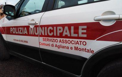mont-ana. CADE IL MURO DEL SERVIZIO ASSOCIATO DI POLIZIA MUNICIPALE